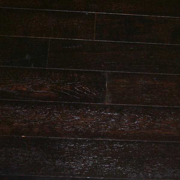 Wood Boo Black Stain White Oak