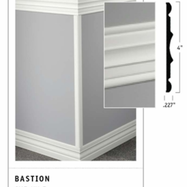 Attractive Johnsonite Chair Rail Moulding Part - 6: Johnsonite - Millwork Chair Rail Bastion