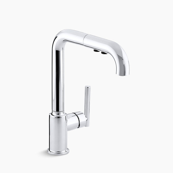 Kitchen - Purist® single-hole kitchen sink faucet with 8\