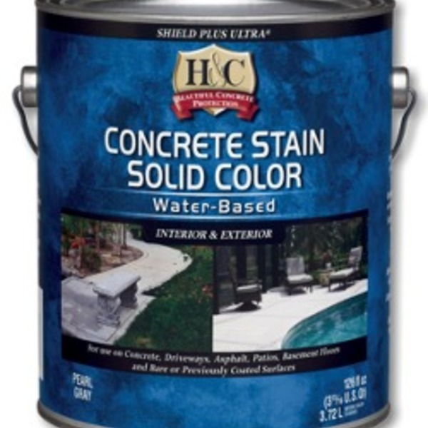 Sherwin Williams H C Concrete Stain Solid Color Water Based