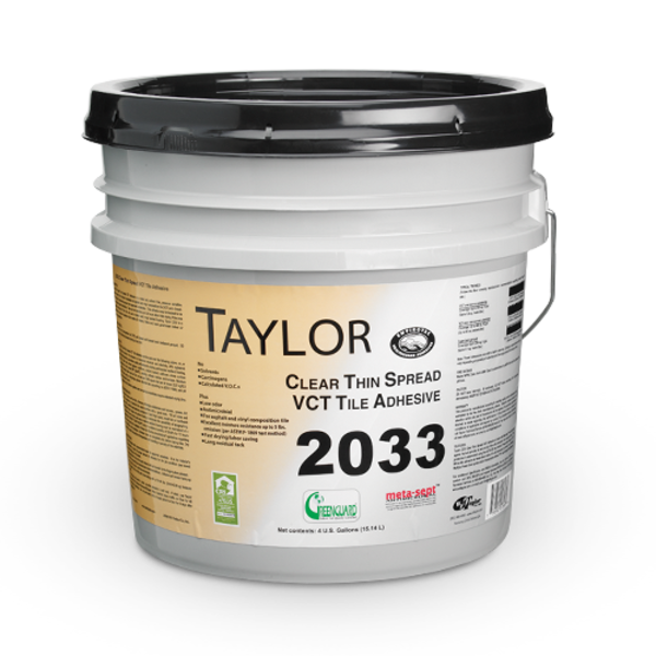 W F Taylor Adhesives 2033 Clear Thin Spread Tile Adhesive