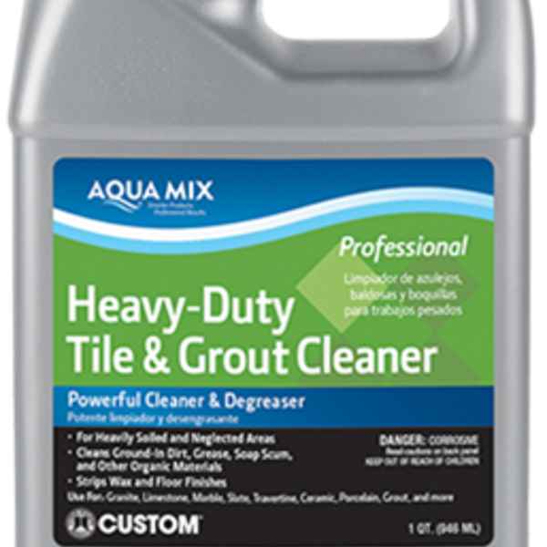 Cleaners Aqua Mix Heavy Duty Tile Amp Grout Cleaner