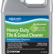 Cleaners - Aqua Mix Heavy-Duty Tile & Grout Cleaner : Custom