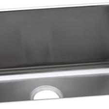 Elkay   Sinks Gourmet (Lustertone) Stainless Steel Single Bowl Undermount  Sink
