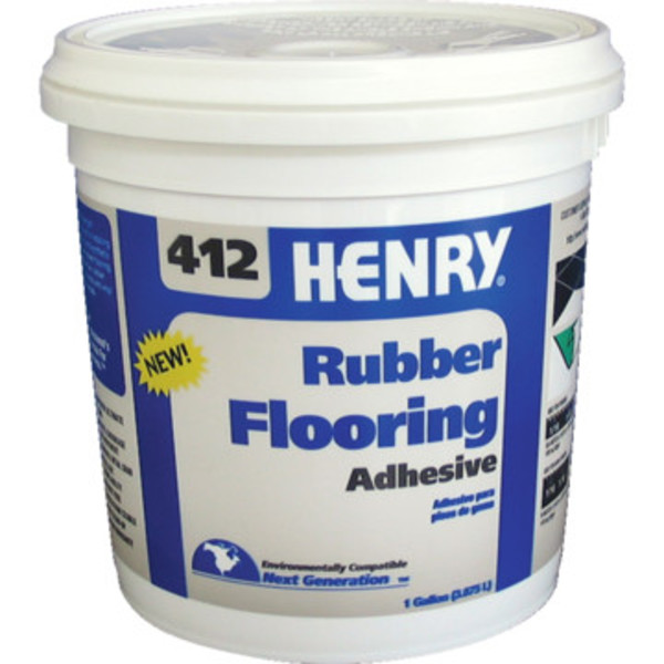 Rubber Flooring Henry 174 412 Rubber Flooring Adhesive