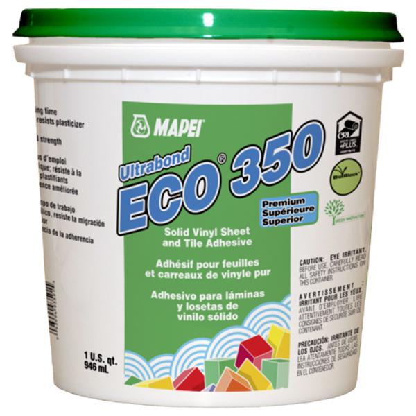 Resilient Flooring Adhesives - Ultrabond ECO 350 : Mapei : Pro