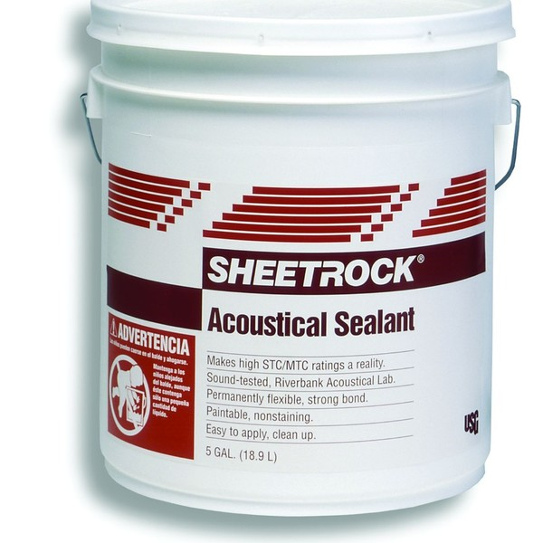 Usg Acoustical Plaster : Sealants sheetrock brand acoustical sealant usg pro